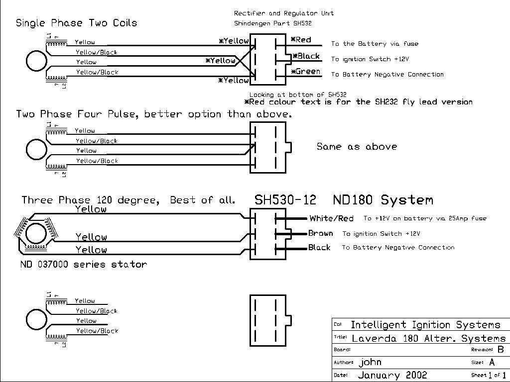 Document Sans Nom Corsa Starter Motor Wiring Diagram Electrical Wirings Test Regulator Connexion Universal Shindengen Sh530 Courtesy Of John Wilson